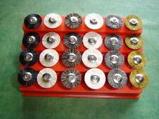Miniaturpolierbürstenset 24-teilig