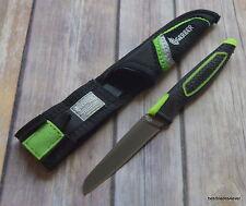 7 INCH OVERALL GERBER FREESCAPE PARING KNIFE FABRIC W/ SHEATH RAZOR SHARP BLADE