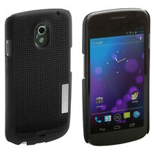 GENUINE SAMSUNG METAL COOL LOOK CASE FOR SAMSUNG GALAXY NEXUS BLACK SAMNEXCCBK