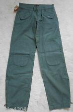 """Replay Verde Oscuro (Khaki) de algodón Jeans Pantalones (Nuevo) en la cintura de 27 """" - Pierna 33"""""""