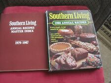 Eighteen Southern Living Annual Cookbook Lot (1980-1997) & Master Index