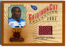 2002 Gridiron Kings EDDIE GEORGE Cut Collection 2000 Game Football Rare SP #/550