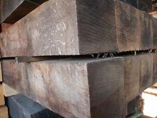 "6"" x 6"" Solid oak beam mantel piece fireplace floating shelf unfinished"