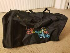 Disneyland Paris Rolling Luggage Duffle Bag Fold Travel Disney Euro Carry On