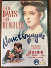 Bette Davis Claude Rains NOW VOYAGER ~ 1942 Oscar-Winning Classing   Rare UK DVD