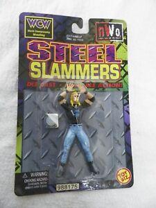 "WCW DDP DIAMOND DALLAS PAGE TOYBIZ 2.5"" STEEL SLAMMER WRESTLING FIGURE WCW WWE"