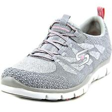 Skechers Low (3/4 in. to 1 1/2 in.) Canvas Athletic Shoes for Women
