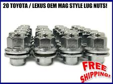 20 Lexus Toyota Factory Oem Mag Lug Nuts 12x1.5 |  For All Mag Seat Stock Rims