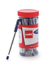 Cello Fine grip Ball Pen Set  Pack of 25 pens (Blue) 0.7 mm tip
