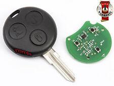 SMART FORTWO K CITY CABRIO FORFOUR CROSSBLADE  REMOTE CONTROL KEY 433Mhz 3 B