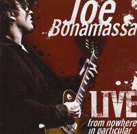 JOE BONAMASSA - LIVE-FROM NOWHERE IN PARTICULAR 2 CD NEU