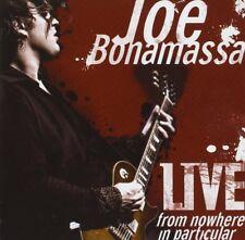 Joe Bonamassa-Live From Nowhere In Particular 2 CD NUOVO