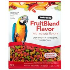 ZUPREEM FRUITBLEND LARGE COMPLETE FOOD MACAWS/COCKATOOS/AMAZONS 1.59KG (3.5.LB)