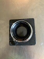 schneider kreuznach Symmar F5.6 210mm - F1:12 370mm Convertable 4x5 Lens