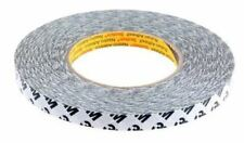 3M 9086 Translucent Double Sided Paper Tape, 12mm x 50m, 0.19mm Thick