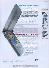 HP Jornada 540 Series 2000 Magazine Advert #1701