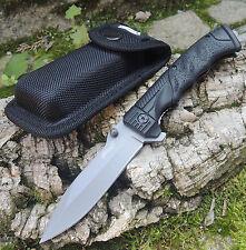 Walther PPQ Messer Taschenmesser Linerlock 440 Stahl + Nylonetui 5.0746