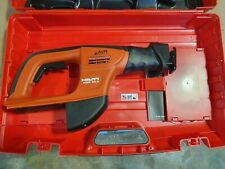 HILTI WSR 36A AVR CPC 36 Volt 6 speed Reciprocating Saw OPENED NEVER USED