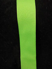Wire Edge Ribbon 38mm Lime Green Grosgrain High quality New