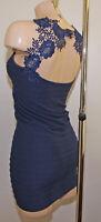 Micro Robe Courte Dos Dentelle Skirt Femme Moulante Fourreau Tube ultra Sexy !