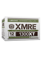 New XMRE 1300XT Meal Kit, Case of 12 Meals w/Heater Military Grade,Free Shipping