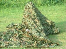 SURPLUS MILITARY SINGLE FOLIAGE CAMOUFLAGE NET WOODLAND CAMO 150 CM * 200 CM