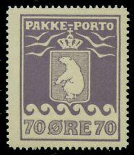 Greenland #Q7a (P10) 70ore Pakke Porto, og, Nh, Vf, Facit $780.00