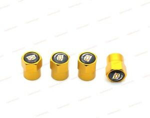 Fit For Cadillac Auto Wheel Parts Car Logo Valve Covers Tire Valve Stems Caps