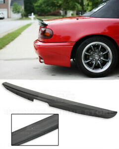For 90-97 Mazda Miata MX5 ABS Plastic Rear Trunk Lid Wing KG WORKS Style Spoiler