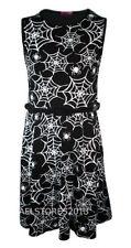 Robes soirées noir sans manches pour fille de 2 à 16 ans
