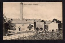 Darley, Old Mill in Nidderdale - north west of Harrogate - printed postcard