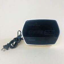 Panasonic AM FM Digital Alarm Clock Radio Vintage TESTED