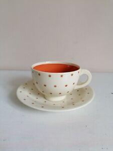 """Art Deco Susie Cooper """"Stardust"""" Cup & Saucer"""