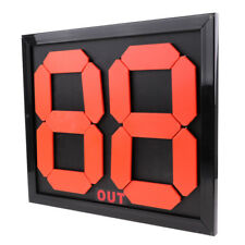 Football Soccer Substitution Board / Card - Double Side Display 2-Digits