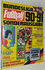 FUSSBALL BUNDESLIGA 1990-1991 SONDERHEFT GUIDE BAYERN KAISERSLAUTERN FOOTBALL