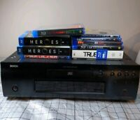Denon DVD-2500BTCI Blu-Ray Player with Movies and no remote