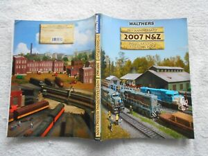 HO WALTHERS 2007 N & Z MODEL RAILROAD REFERENCE BOOK