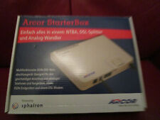 Arcor Starter Box  NTBA DSL-Splitter und Analog Wandler