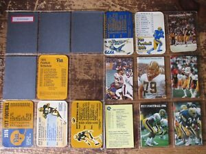 Pittsburgh Panthers NCAA football schedules- 1983 - 2013 *Lot of 48* No Dupes