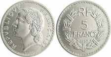 III°  RÉPUBLIQUE  ,   5  FRANCS  LAVRILLIER  NICKEL  1937