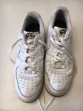 US 10.5 Men's Nike Low Cut Airforce 1 Ones 82 White Black 315122 995
