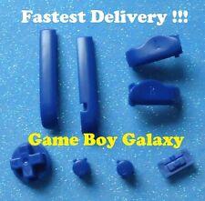 Nintendo Game Boy Advance GBA Custom BUTTONS SET Bumpers Shoulder A B D-Pad BLUE