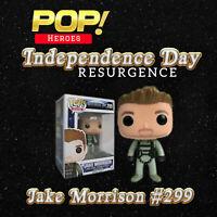 POP MOVIES INDEPENDENCE DAY Resurence JAKE MORRISON #299 Funko Pop Vinyl Figure