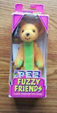 Pez Fuzzy Friends Tj Bear Dispenser