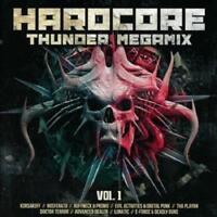 HARDCORE THUNDER MEGAMIX = Korsakoff/Playah/Promo/Nosferatu...=2CD= GABBER !!