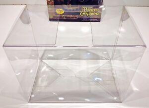 3 Box Protectors For New Taller FUNKO DORBZ RIDEZ PLEASE READ! Clear Cases Rides