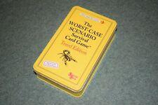 THE WORST CASE SCENARIO Survival Card Game Travel edition university games