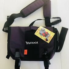 Messenger Bag Yahoo Logo New NWT
