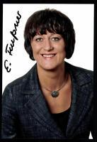 Eva Feußner Foto Original Signiert ## BC 42388