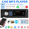 1 DIN Autoradio radio de Coche MP3 Bluetooth Manos Libres Car USB SD AUX In-Dash